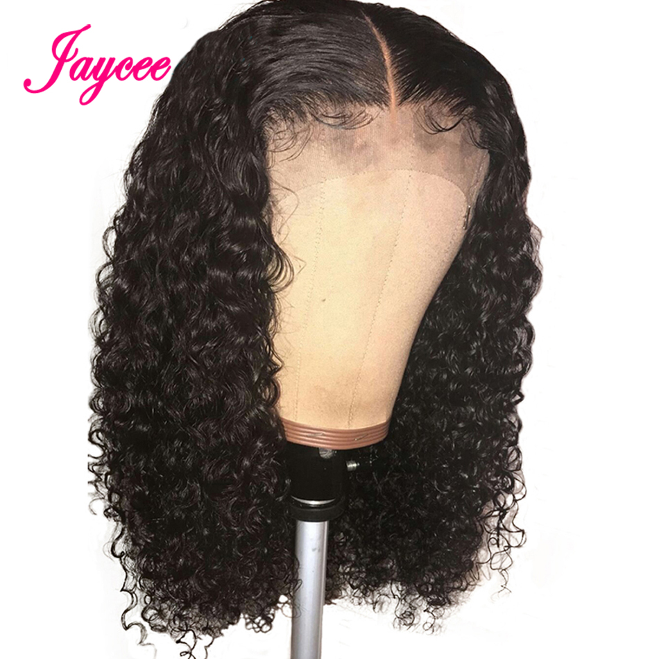 Curly Human Hair Wig 13x4 Lace Front Human Hair Wigs Tissage Bresiliens 360 Lace Frontal Wig Pre Plucked With Baby Hair