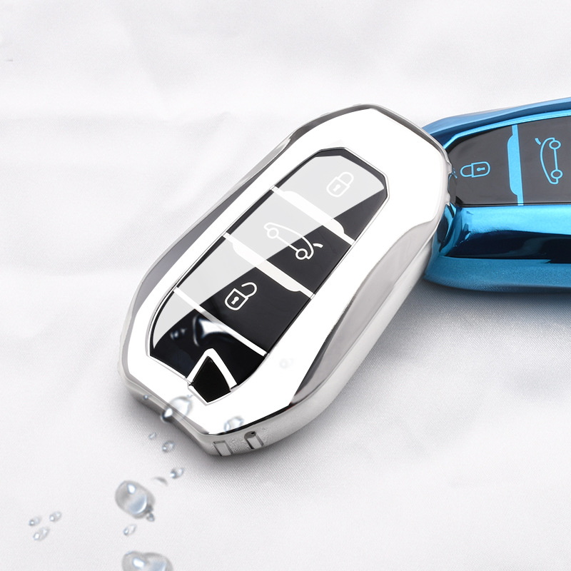 For Citroen C4 Picasso Key Case TPU Key Cover For Citroen C4 Cactus C5 X7 C6 C4 Picasso Grand C4l DS3 DS4 DS5 DS6 Car Key Case