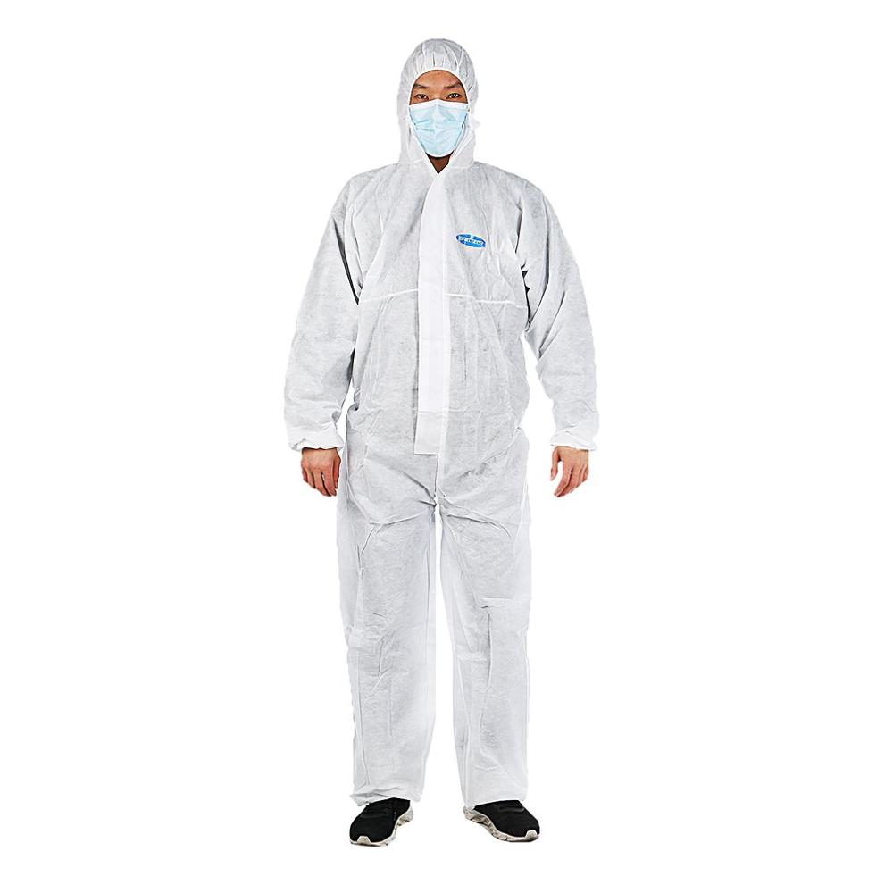 Sanitary Protension Isolation Clothing Anti-dust Antistatic Clothing Waterproof Elastic Design Heat-seal Protective Clothing