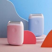 Smate épilateur électrique Mini Portable épilation tondeuse femmes USB Rechargeable lisse rasoir étanche épilateur