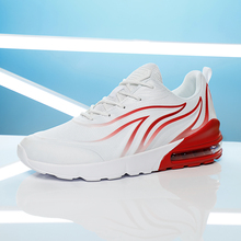 Casual Mesh Men Shoes Air Running Shoes Breathable Outdoor Sport Lace-up Durable Male Jogging Sneakers Walking Comfortable shoes onlymonkey men running shoes new design air cushion lace up male sport shoes outdoor shock absorbant stability support sneakers