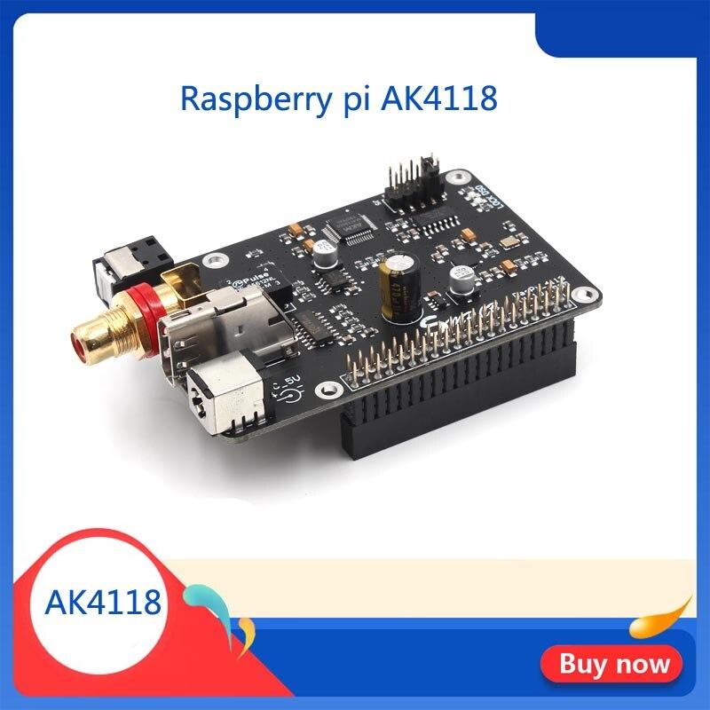 Raspberry Pi AK4118 Coaxial HIFI Sound Card I2S DSD Digital Broadcasting 32BIT PCM384 DSD128 G5-001