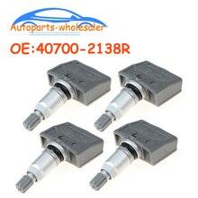 4 pcs/lot 407002138R 40700 2138R 8200086582 For Renault Laguna II Laguna II Grandtour TPMS Tire Pressure Sensor Monitor 433Mhz