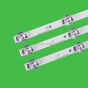 """Image 4 - 3 pièces/ensemble LED rétro éclairage bande 6 lampe barre lumineuse pour Lg 32 """"TV 32LB5800 UG 32LB5610 vente en gros et livraison directe"""