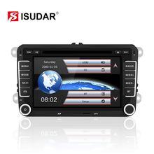 Isudar Car Multimedia player 2 Din Car DVD For VW/Volkswagen/Golf/Polo/Tiguan/Passat/b7/b6/SEAT/leon/Skoda/Octavia Radio GPS DAB