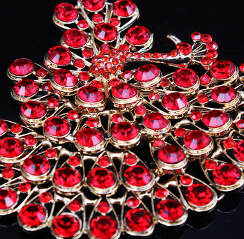 Luxurious Peacock Bridal Jewelry Set 5