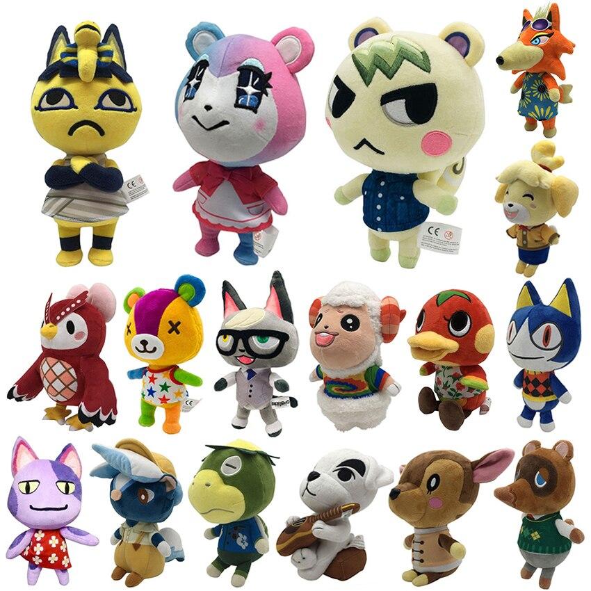 Лидер продаж, новинка, плюшевая кукла анимационного пересечения 20 см, маршал Amiib, редкие животные, плюшевая игрушка, игры, плюшевая игрушка NFC...