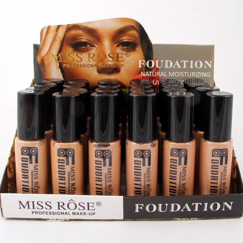 Corrector Nude Natural cara líquido Fundación primer maquillaje de belleza crema hidratante líquido de la cubierta completa corrector Facial Base de la Fundación - 4