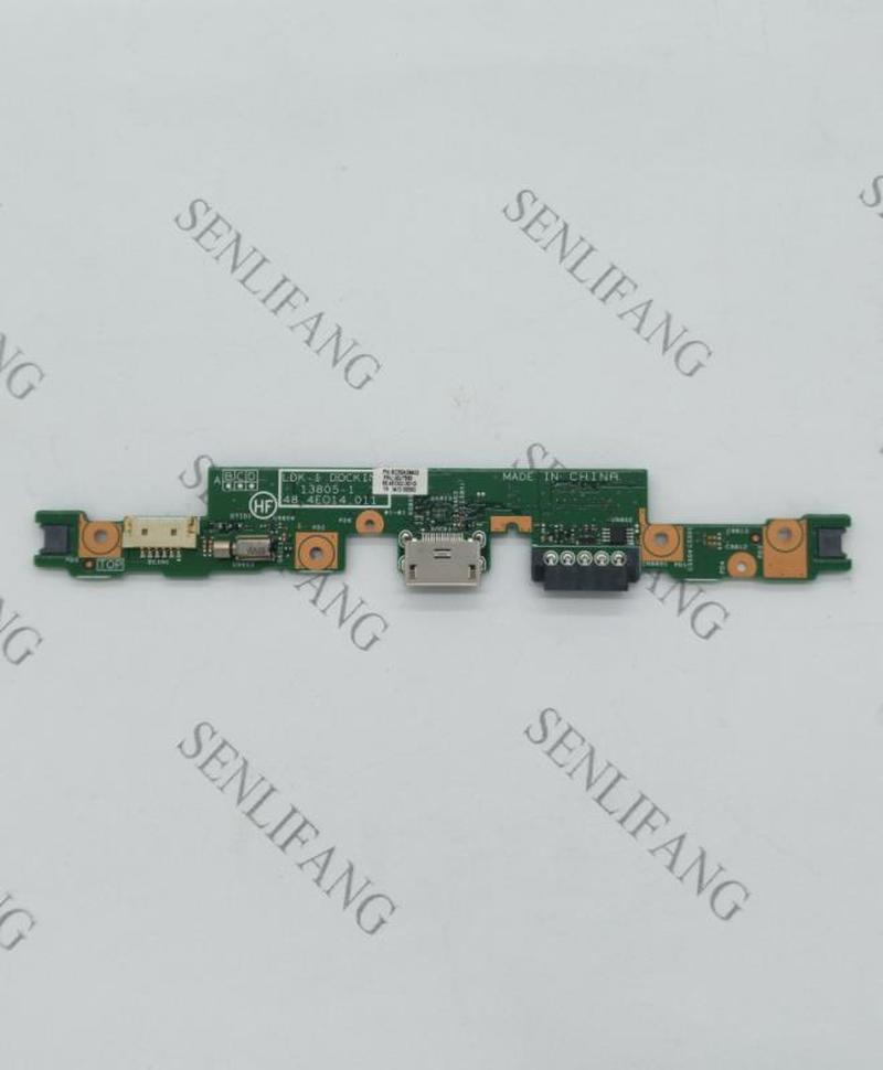For Original Subcard,I/O Board For Lenovo Thinkpad Helix (Type 20CG, 20CH) Laptop,P/N 00JT550 48.4EO14.011 55.4EO02.001 (100101)