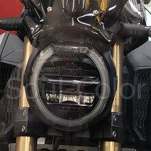 HONDA için CB650R CB 650R CB1000R CB 1000R 2018 2019 motosiklet ön far Guard kafa ışık lensi kapak koruyucu