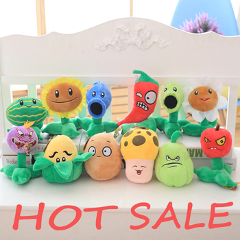 12 New Style Funny Plants vs Zombies Plush Toys 20cm Plants vs Zombies Soft Stuffed Plush Toys Doll Baby Toy for Kids Gifts 16 styles plants vs zombies plush toys 30cm plants vs zombies soft stuffed plush toys doll baby toy for kids gifts party toys