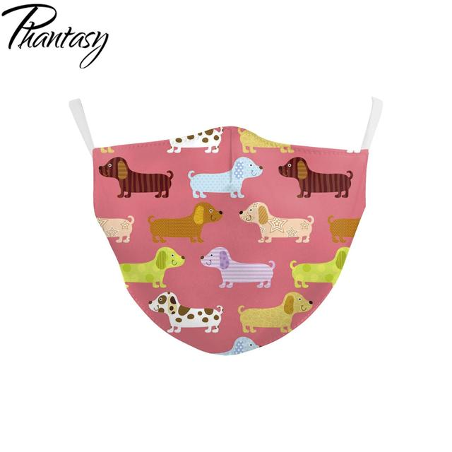 Phantasy Reusable Children's Cartoon Cute Unicorn Printed Masks Anti Dust Kid Face Masks Protective PM.25 Anti Pollution Mask 4