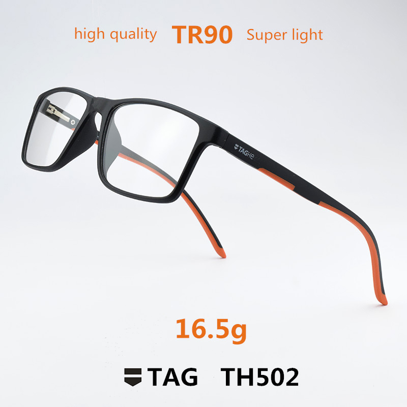 TAG marque TR90 myopie lunettes cadre hommes prescription lunettes cadre femmes lunettes montures pour hommes montures de lunettes lunettes