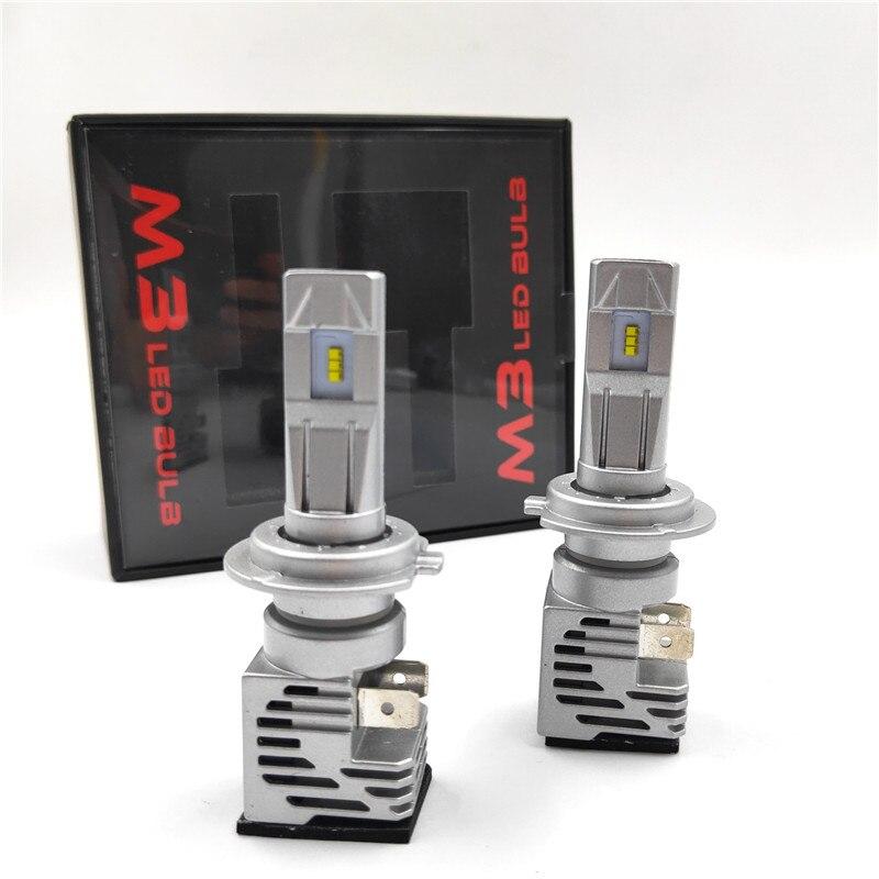 M3 55W 10000LM H4 H7 9005 9006 H11 Car LED Headlights Bulb Fog Light HB2 HB3 HB4 LED H7 LED Headlight