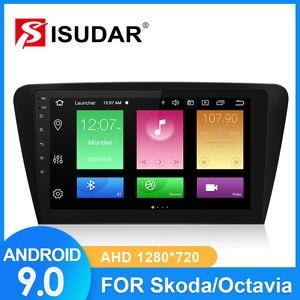 ISUDAR Car Radio For Skoda/Octavia 2014 2015 2016 2017 2 din Android 9 Autoradio Multimedia GPS DVR Camera RAM 2GB ROM 32GB USB