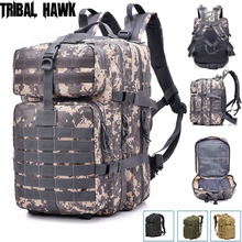 Army Backpack Mochila Tactical-Bag Hunting-Pack Hiking Rucksack Military Outdoor 50L
