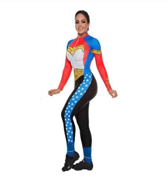 Frenesi Kolumbien Triathlon Kleidung Frauen Nach Radfahren Kleidung Bike Skinsuit Overall Fahrt Fahrrad Set Team Kit Ropa Ciclismo