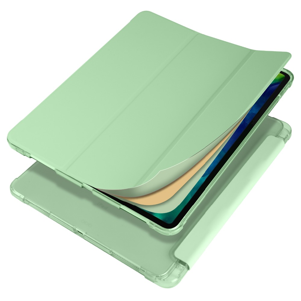 Case Pro 12 2020 Apple TPU 9 for Shell Cover 2018 with iPad Soft Holder Pencil iPad For