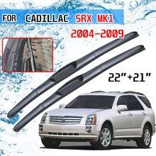 Cadillac SRX için MK1 2004 2005 2006 2007 2008 2009 aksesuarları ön cam silecek lastiği fırçaları araba kesici U tipi J kanca