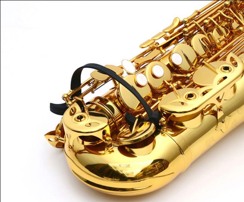 4Pcs Alto Saxophone Reeds Black Resin Tenor Saxophone Reeds Durable ALTO