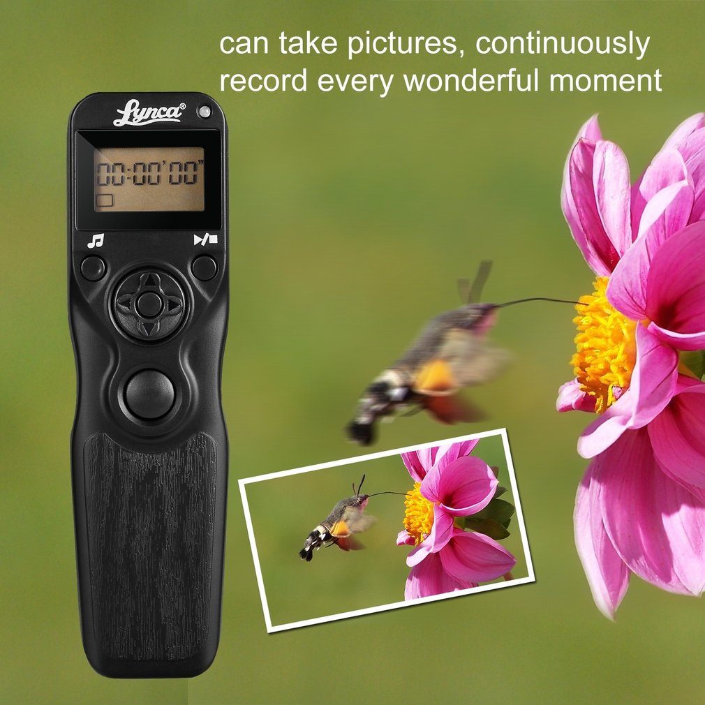 Digital <font><b>Timer</b></font> <font><b>Remote</b></font> Control <font><b>Shutter</b></font> Release Trigger(Replacement for MC-DC2) for <font><b>Nikon</b></font> D90 D5000 D5200 D7100 D4 Camera image