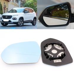 Dla BAOJUN 510 samochodów widok z boku drzwi szerokokątne lusterko wsteczne niebieskie szkło z podstawy ogrzewany 2 sztuk