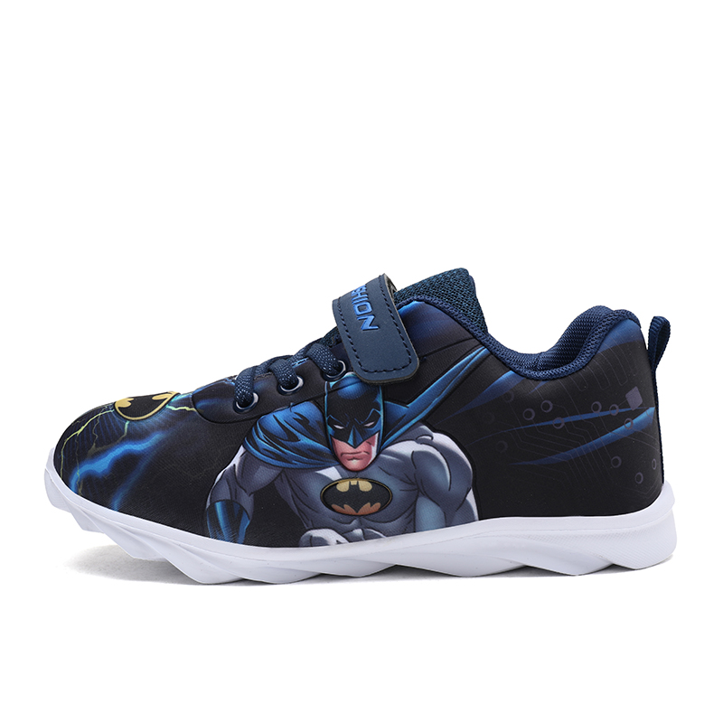 2019 Sports Shoes Kids Shoes Exclusive Super Heroes Batman Design For Boys Girls Toddler Boy Soft Sneakers Slip-on Loafers Flats