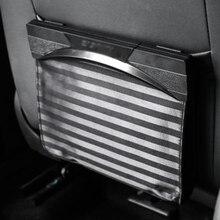 Car collapsible garbage bag car portable trash can magnetic hanging storage seat