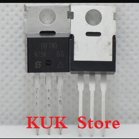 Real 100% Original NEW IRF740 IRF740PBF MOSFET 400V 10A TO-220 20PCS/LOT