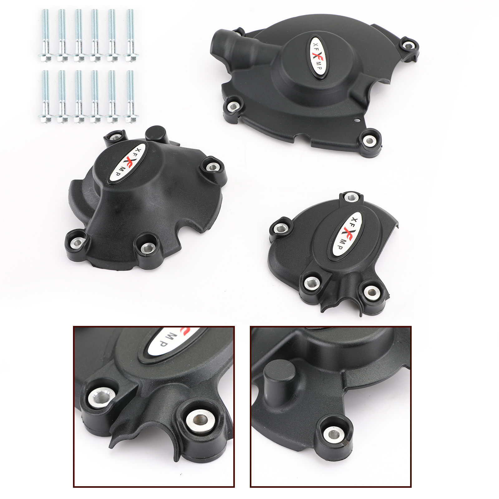 Artudatech Stator Engine Alternator Clutch Pulse Cover Guard For <font><b>Yamaha</b></font> YZF R1 2015 MT10 <font><b>MT</b></font> <font><b>10</b></font> 2016 Accessories image