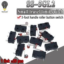 20 sztuk partia nowy Micro Roller dźwignia ramię normalnie otwarty zamknięty wyłącznik krańcowy KW12-3 darmowa wysyłka tanie tanio WAVGAT Open Close Limit Switch