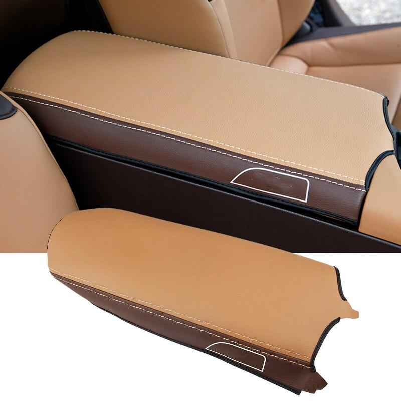 Car Styling For Lexus ES350 ES300H 2019-2020 Center Box Armrest Console Pad Cushion Cover