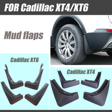For Cadillac XT4 mudguards XT4 XT6 Mud flaps cadillac fenders splash guards car accessories auto styling 2018 2019