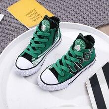 kids shoes High-top canvas children sneakers for boys girl designer boy brands