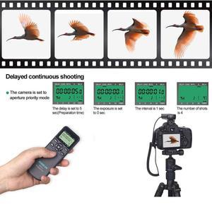 Image 5 - Aodelan WTR2 Draadloze Ontspanknop Timer Afstandsbediening Voor Nikon Z6, Z7, Coolpix P1000, D850, d810, D700, D4, D5, D4s, D3100