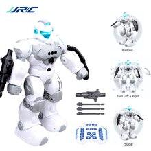 JJRC רובוט אינטליגנטי לתכנות אוטומטי מוסיקה ריקוד RC Roboter עבור ילדי חכם מעקב שעון המחווה חיישן RC וקטור רובוט