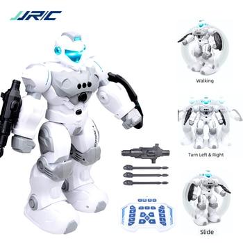 JJRC Robot Intelligent Programmable Auto Music Dance RC Roboter For Children Smart Watch Follow Gesture Sensor Vector