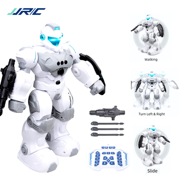 JJRC Robot Intelligent Programmable Auto Music Dance RC Roboter For Children Smart Watch Follow Gesture Sensor RC Vector Robot
