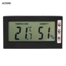 цена на ACEHE New Digital LCD Thermometer Hygrometer Max Min Memory Celsius Fahrenheit Humidity Meter Hygrometer Gauge Indoor