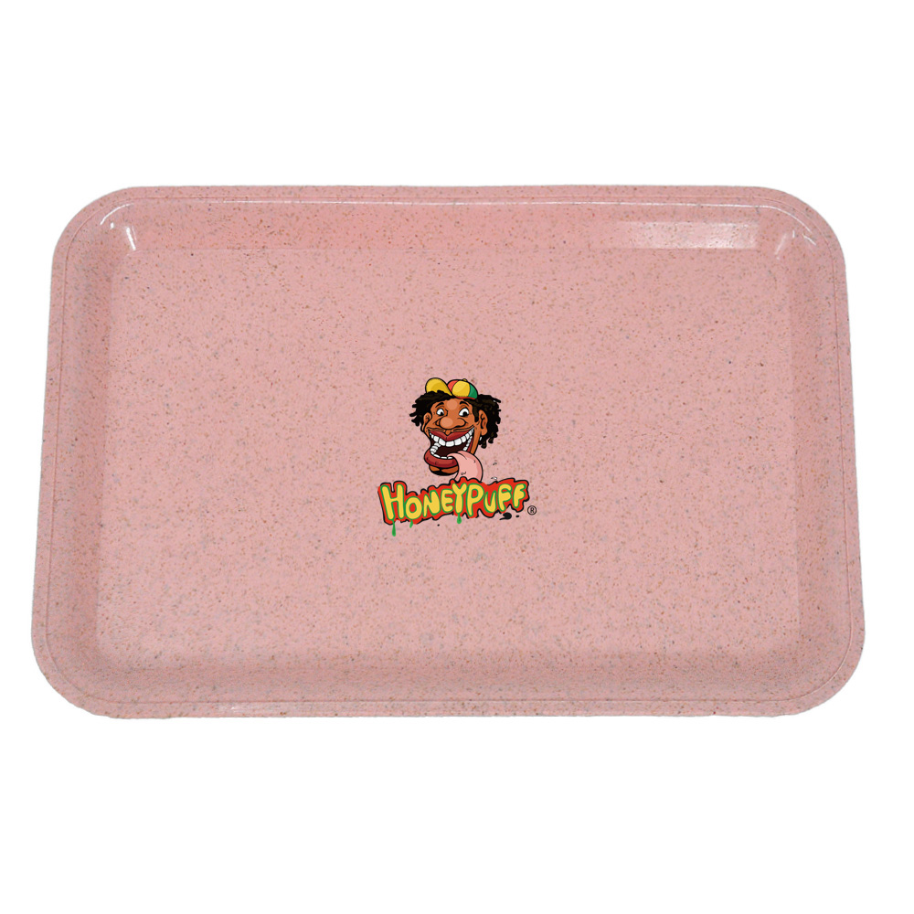 HONEYPUFF Degrading Material Tobacco Rolling Tray For Rolling Paper Plate Spice Cigarette Smoke Storage Smoking  Accessories 1