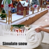 Christmas Decorations Christmas Snow Cover Blanket Artificial Cotton Blanket For Christmas Tree Skirts Backdrop Decorations