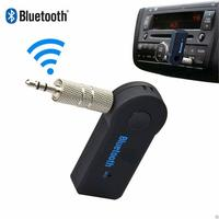 wireless bluetooth v3 Bluetooth Car Handfree Kit 3.5mm Streaming A2DP Stereo Wireless AUX Audio Music Receiver MP3 USB BT V3.0 Player for Phone Pad PC (3)