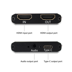 Image 2 - 1080P 60fps Full HD וידאו מקליט HDMI כדי USB 3.0 סוג C וידאו לכידת כרטיס מכשיר עבור Winodws Mac לינוקס הזרמה