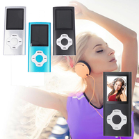 Reproductor MP3 portátil, reproductor MP4, Radio FM, HIFI, altavoces deportivos para música