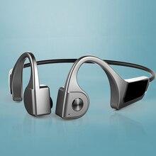 цена на Bone Conduction Wireless Bluetooth Headsets TWS Earphone Outdoor Sport Stereo Headset Noise Canceling Headphone Handsfree MIC