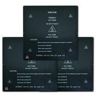 Tronxy 3D プリンタ黒加熱ベッド 24 v 220*220 ミリメートル/330*330 ミリメートル印刷標準アルミ合金ホットベッドボード