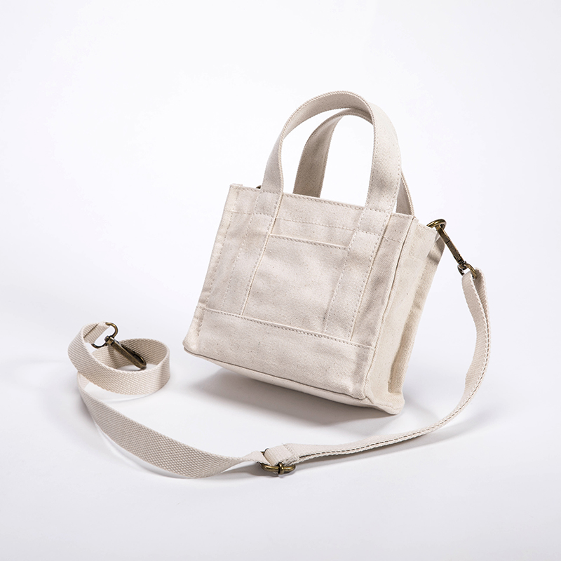 Canvas Messenger bag female wild ins super fire small bag women new Japanese and Korean version of simple shoulder canvas small