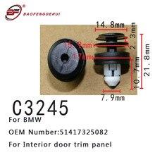 Auto Accessories Clip 51417325082 For BMW X5 X3 G01 Z4 BMW5 G30 G31 G38 BMW6 E36 530i 540i Interior Door Trim Panel Fastener