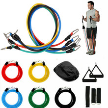 Elastic Resistance Bands Sets Gum Fitness Equipment Stretching Rubber Loop Band for Yoga Training Workout Exercise Elastic Band(China)