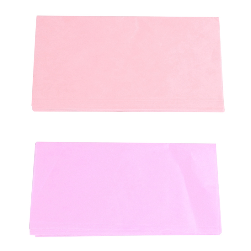 2 Bag (Including 38-43 Sheets Per Bag) 50x50CM Tissue Paper Party Present Gift Wrapping - Light Pink & Champagne
